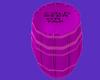 Neon Beer Barrel