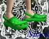 [NA]Green Crocs shoes