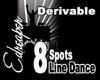 Derivable Line Dance 8s
