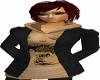 AC*Lady jacket black/bei