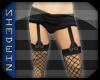 [SW] Black Shorts+Tights