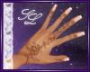 `SL. Floral Henna Hand