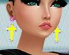 H- Cross 7 Earrings