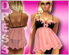Pink and Black Babydoll