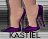 K| Sannie Pumps Purple