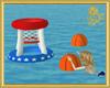 Animated Aqua Basketball