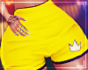 ♛ Sport Short Yellow