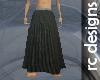 Grey Samurai Skirt