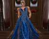 SEXY RL BLUE GOWN