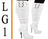 LG1 White BMXXL Boots