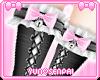 ♡ Black Maid Socks ♡