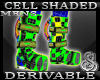 Cell Shaded Space Boot M