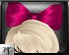 M' BigHeadBow ~ Pink
