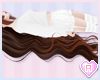 Brown Long Twin Tails