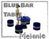 Blue Bar Table
