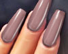 GEL Coffin Nails TAUPE