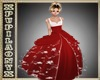 RED KID PRINCESS DRESS
