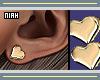 ✘Niah Heart Earrings