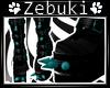 +Z+ Teal Punk Boots