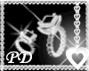 ;PD; DIAM & ONYX RING LH