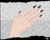 /w/ Black Nails