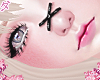 d. X nose black