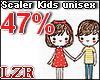 Scaler Kids Unisex 47%