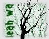 Dead tree 2 sticker