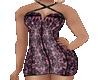 Mia Purple Mini Dress