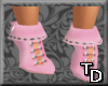 *T Short Boots Pink