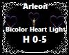 Bicolor Heart Light