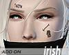 - Face Tattoo - Faith