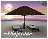 Tropical Beach Loungers