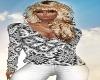 Black n White Sweater