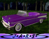 Animated Purple Cadillac