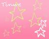 T♥ Kirby Head Stars