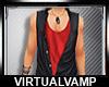 Vest/Red Top