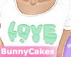 Mint Love [crop top]