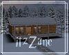 Snow Winter Cabin