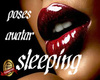 sleeping poses avatar