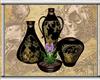 Oriental Garden Vase Set