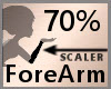 70% ForeArm Scaler F A