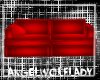 [A]Red Bright Couch