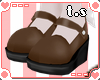 *ts* Dolly Shoes [Brown]
