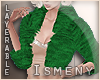 [Is] Fur Green Coat