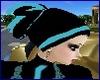 BLack Blue Muslim Veil