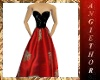 !ABT Black & Red Gown