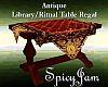 Antq Ritual Table Rgl
