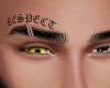 RESPECT TATTOOED BROWS
