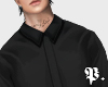 C. Slim Fit Black Shirt